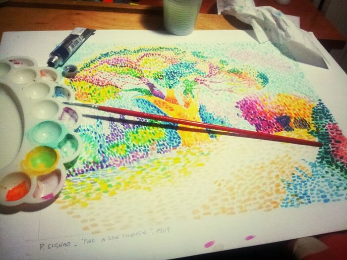 Made by me <3 Having Fun Working Art Homework