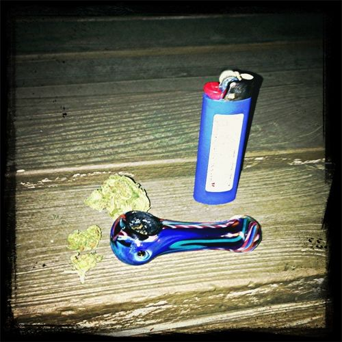Smoking Weed And Chilling