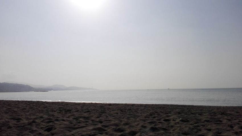 Beach Sea Sand Water Tranquility Horizon Over Water Sun No People Nature Beauty In Nature Scenics Tranquil Scene Landscape Sky Vacations Outdoors Sunlight Day