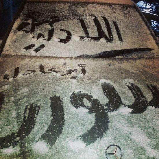 Istanbul Lattakia Syria  Snow تلج اسطنبول سورية اللادئية