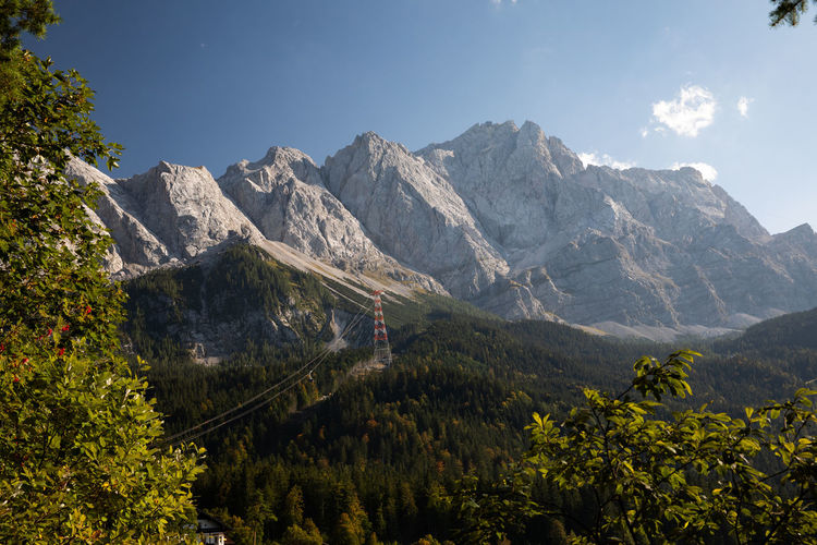 Bavaria Tadaa Community Zugspitze Bavarian Alps Beauty In Nature Day Environment Formation Idyllic Landscape Mountain Mountain Peak Mountain Range Nature No People Non-urban Scene Outdoors Plant Rock Scenics - Nature Sky Sunlight Tranquil Scene Tranquility Tree
