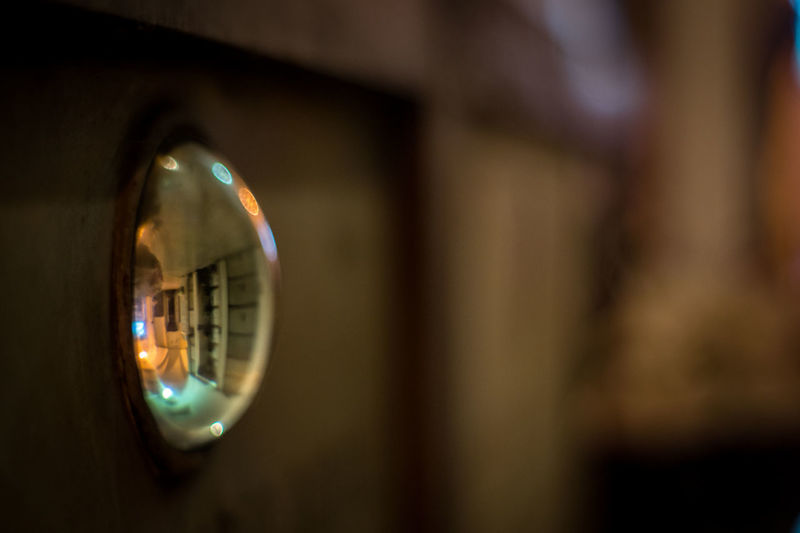 Close-up Glass Lens  Illuminated Indoors  No People Reflexions Sharp And Soft Focus EyeEm Selects