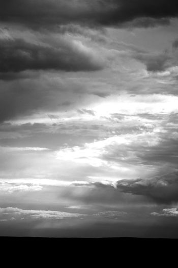 Gobi Desert Mongolia Beauty In Nature Blackandwhite Cloud - Sky Day Dramatic Sky Environment Nature No People Non-urban Scene Outdoors Overcast Scenics - Nature Silhouette Sky Storm Говь- Монгол улс