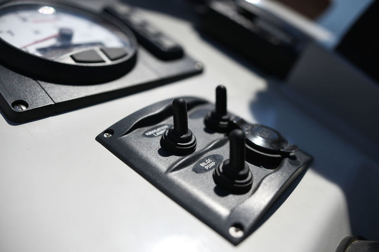 Boat Controls Knobs Dials Ship Switches Sailting Boats