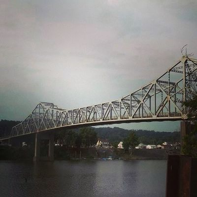 Kanawha River Dunbar All_my_own westvirginia ipulledoverforthis best_photogram jj_juststructure cool_capture featured heyfred_lookatthis litratistadavao wv_captures ig_premiereshots mafia_moments igers_of_wv mobile_nature bridge ig_captures scenic nature_perfection fabskyshots water_captures
