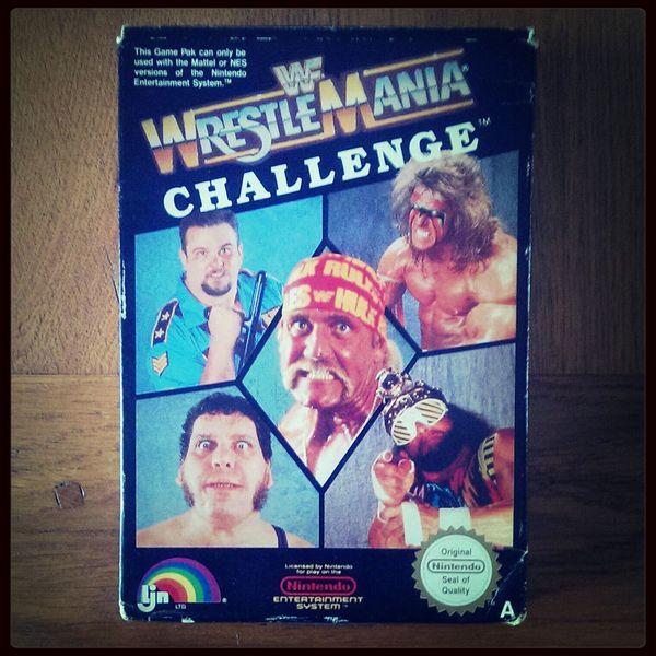 Wwf Wrestling Wrestlemania Nintendo