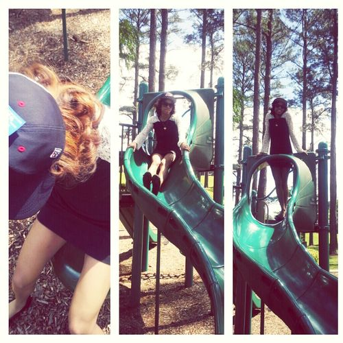 My Bby Took Me To The Park,
