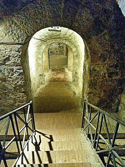 Catacombs Mitras Mitra God Roman Ruins History History Architecture Catacombe del Dio Mitra - Il Mitreo di Santa Maria Capua Vetere ITALY