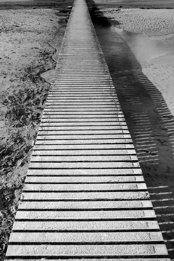 The Path Direction The Way Forward Pattern Footpath Outdoors Nature Diminishing Perspective Shadow Sunlight Absence Architecture vanishing point Parallel Long Blackandwhite Black And White