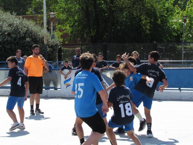 Action photo 3 Handball Match Group Of People Real People Large Group Of People Crowd Tree Men Sport Sunlight Childhood Child Boys Plant Nature Day Shadow Leisure Activity Males  Group Playing