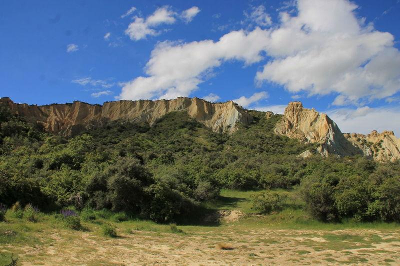 Beauty In Nature Ciel Clay Cliffs Cliff Cloud Day Falaise Landscape Limestone Monde Nature New Zealand No People Nouvelle Zélande Nuage Outdoors Tourism Travel Travel Destinations Voyage World