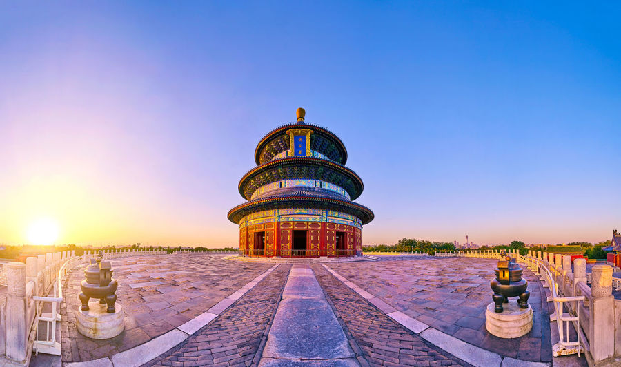 Temple of Heaven park qiniandian Sunset Beijing Beijing China Beijing Trip Beijing Scenes China Beauty China View China Photos Panorama Sunlight Architecture China China Culture China Style Clear Sky Famous Place History Landmark Landscape No People Oriental Oriental Style Outdoors Park Sunset Temple Of Heaven