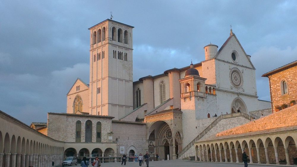Assisi Italy  basica di San Francesco... On The Road Born To Be Wild