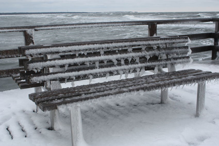 Seebrücke Zingst, very cold winter 2010, Baltic Baltic Sea Bench Benches Benches_Of_The_World_Unite Cold Cold Days Cold Temperature Cold Winter ❄⛄ Eis Eye4photography  EyeEm Best Edits EyeEm Best Shots EyeEm Gallery Icicles Icy Ostsee Ostseebad Ostseeküste Outdoor Photography Seebad Zingst Snow Snow ❄ Snowing Winter