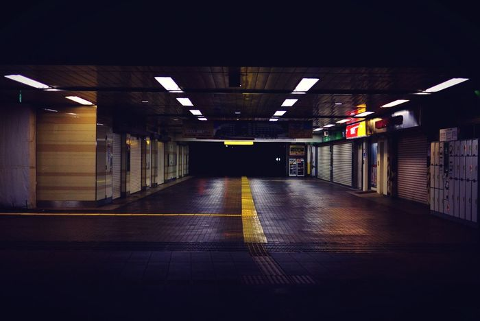 Totsuka Station Nightphotography Urban AM2:47