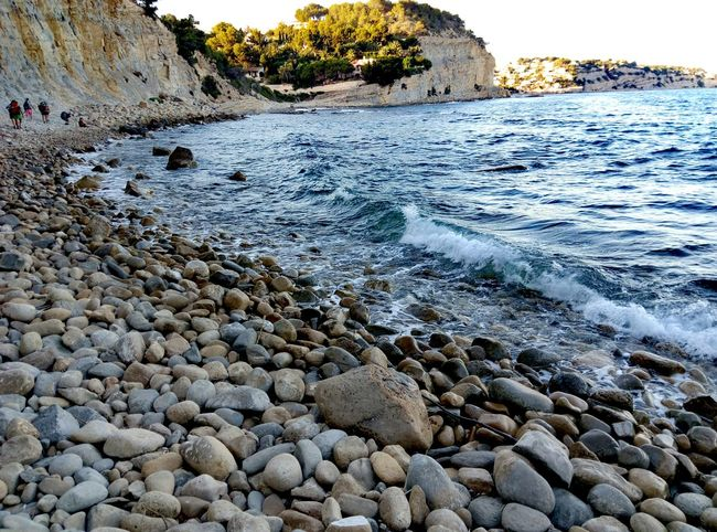 Beach Caminata Sealandscape Taking Photos Enjoying Life Beautiful Nature Fall Sun