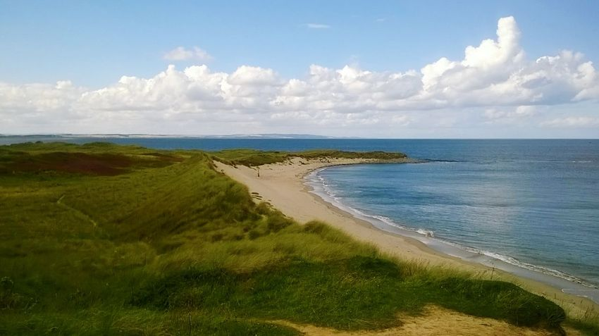 Holy Island Northumberland North Bay Secret Beach Sandy Beach Lindisfarne