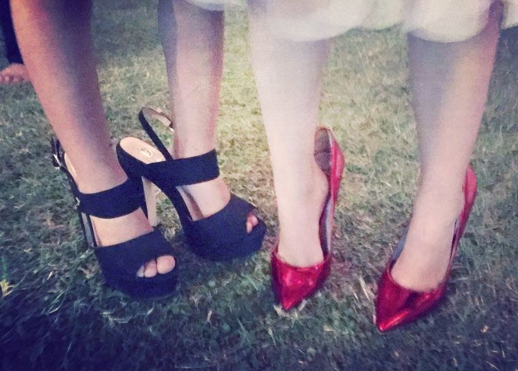Women Two People Girls Litlle Girl Shoes ♥