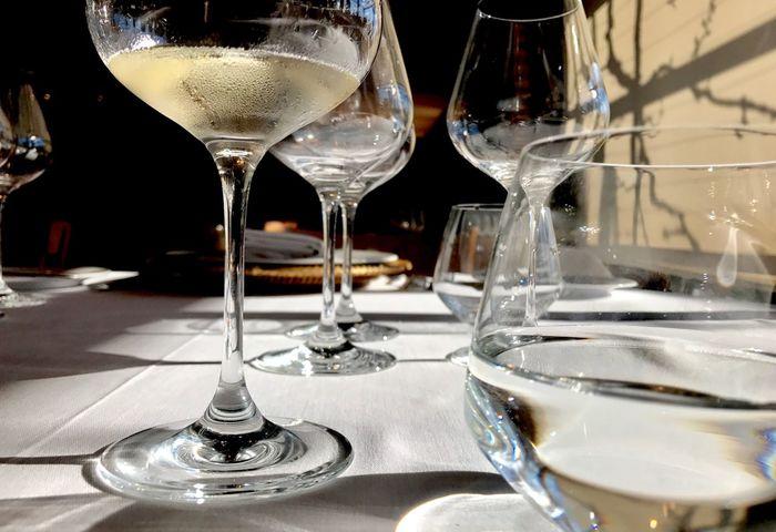 Wineglass Table Drinking Glass Wine Refreshment