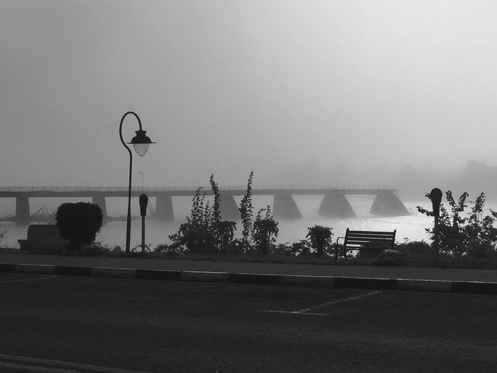 Blackandwhite Photography Feel The Journey Foggy Morning Coldmornings