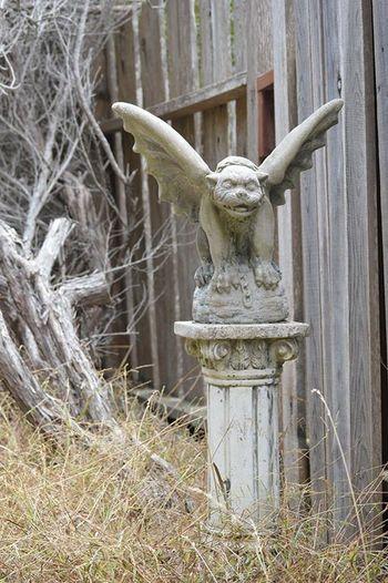 Gargoyle Gargoyle Art And Craft Statue Representation Sculpture Day No People Craft