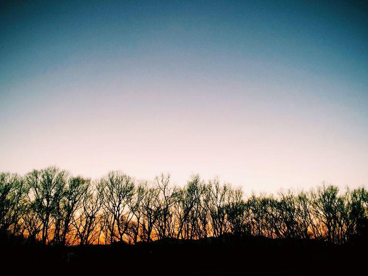 陽は暮れ静寂な空気に包まれる。