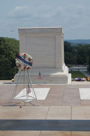 Portrait Of America Arlington National Cemetary Tomb Of The Unknown Soldier Washington, D. C.