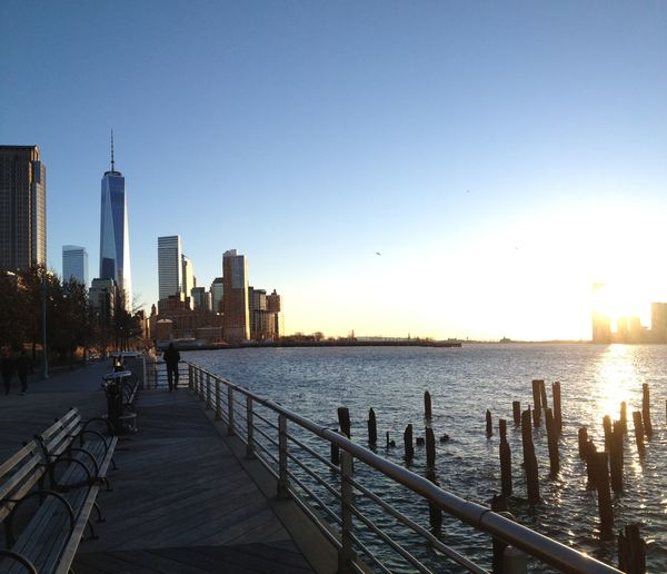 Newyork Freedomtower Silhouette Sunset Silhouettes Building NYC New York NYC Photography