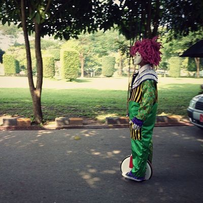 Clown Cycling Igersmyanmar Instaphotography narcoticphotography yangon burma myanmar