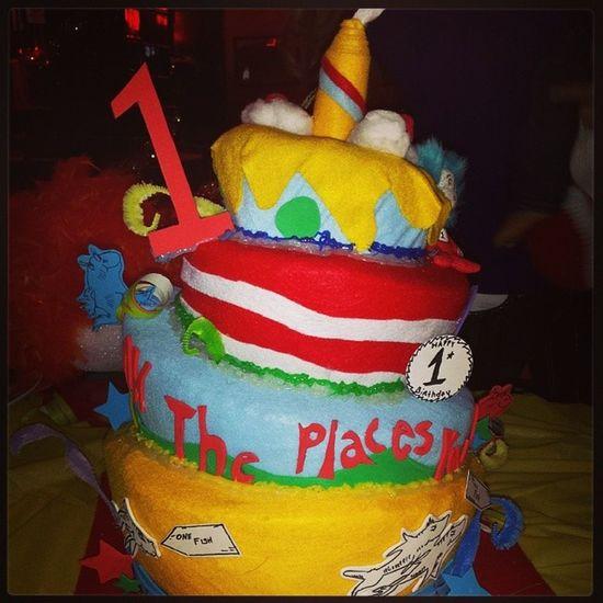 Brantleys felt cake. Lol Cakefromhell Drseuss Felt