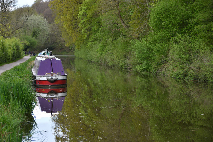 Finding Peace Chrismasonphotography@btinterne Landscape Countryside Canal Narrowboat Kennet And Avon Canal Water Nautical Vessel Lake Reflection Oar British Culture