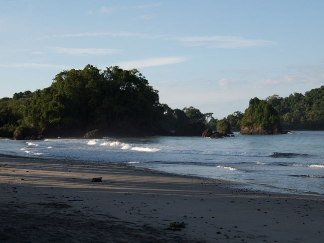 Been There. Manuel Antonio Beach Beauty In Nature Day Horizon Over Water Nature No People Outdoors Sand Scenery Scenics Sea Shore Sky Tranquil Scene Tranquility Tree Water Wave