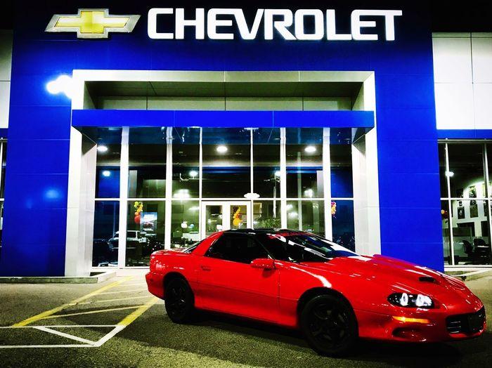 Car Camaro Chevrolet Chevy Photography Photooftheday American Racecar Red Fog