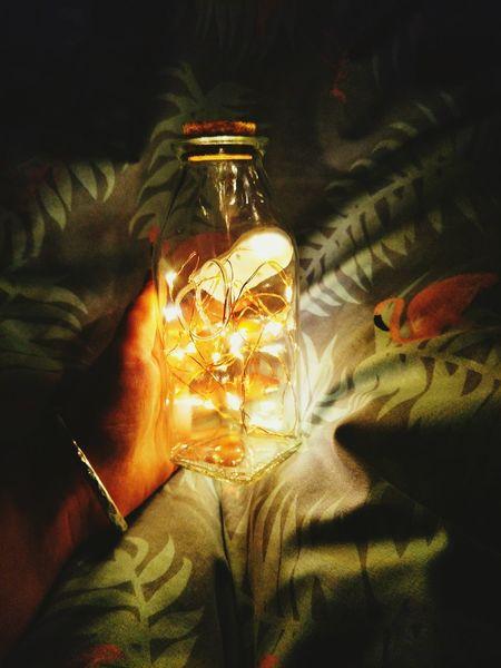 瓶子灯 灯 光