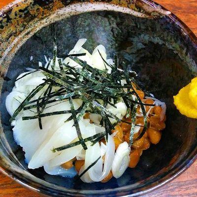 イカ納豆 Drinking 酒場 Japanesefood