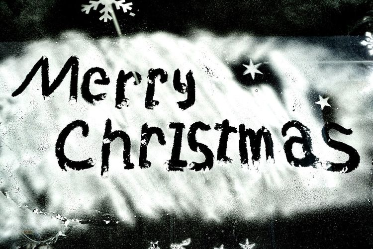 In Japan Mary Christmas Spray Paint Shop Blackandwhite Photography Monochrome Fukuoka-shi Happy Christmas