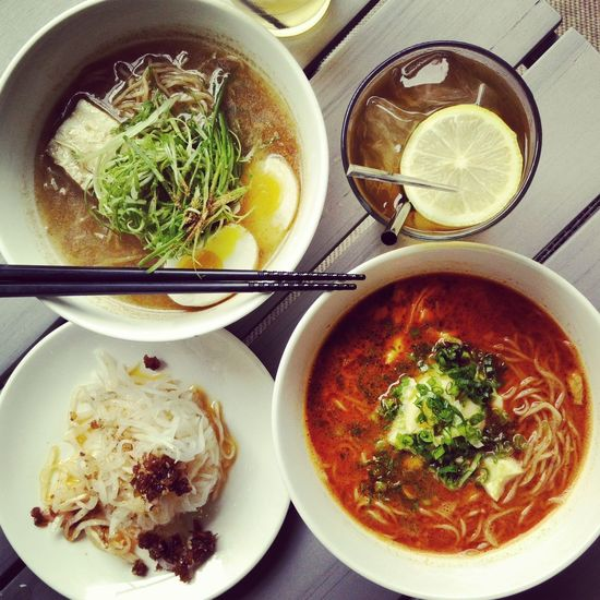 Enjoying one of my NYC farewell meals in the Lowereastside. I love the spicy red chilli Ramen with minced pork and smashed egg. The fabulous pickled daikon with XO sauce was a perfect accompaniment to cut the spice of my full-flavored broth. Dinner