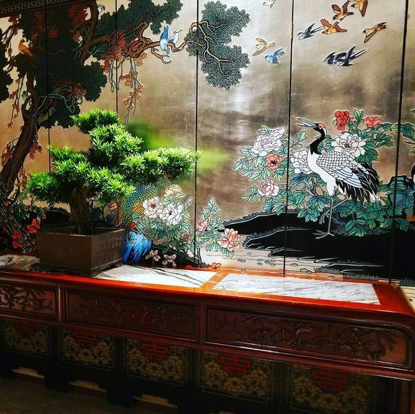 Traditional Decoration. Chinese Traditional Style Decoration
