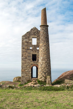 Tin Mines Cornwall Wheal Leisure Architecture Building Built Structure Cloud - Sky Day History Land Nature No People Outdoors Poldark Poldark Country Poldark Location Poldarkcountry Sky The Past Tin Mine Wheal Owles