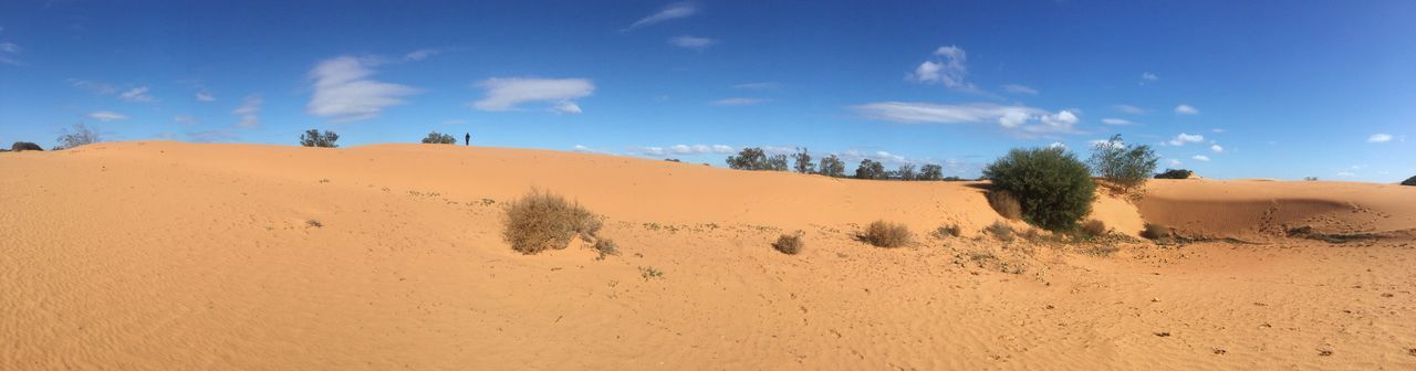 The Perry Sandhills, NSW. Wentworth nsw Australia fragile environment sSandsSkysSand DunenNatureaArid ClimatebBluebBeauty In NaturelLandscapetTranquilitydDesertdDaysScenicscCloud - SkyoOutdoors