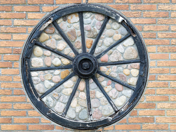 Architecture Brick Wall Building Exterior Built Structure Clock Clock Face Close-up Day Hour Hand Minute Hand No People Outdoors Roman Numeral Wall - Building Feature Window