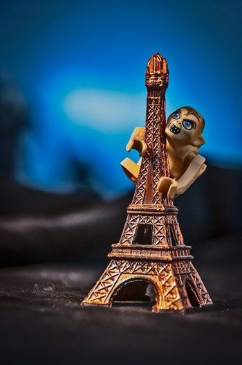 Macro Photography Eiffel Tower LOTR Gollum