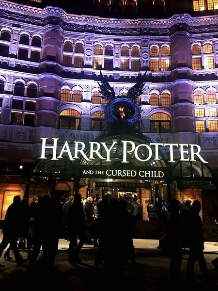 Scenery Shots Beautiful Play Colors Theatre Palace Theatre  London Cursed Child Harry Potter Night People City