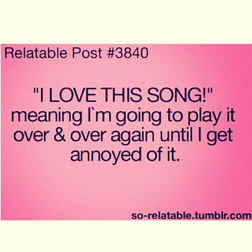 Me when I hear a good song