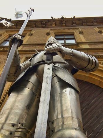 Prague Czech Republic Architectural Column Architecture Art And Craft Building Building Exterior Built Structure Day History Knight  Low Angle View No People Outdoors Religion Representation Sculpture Statue The Past Travel Destinations