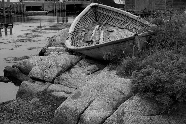 Abandoned Boat Day Nautical Nautical Theme Nautical Vessel No People Outdoors Water