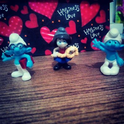 Decoration Smurfs Smurfette  Sirinler