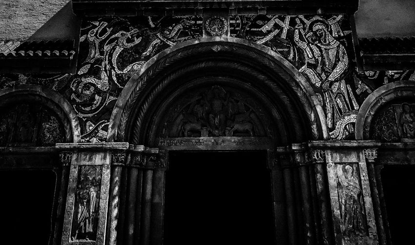 Shadow Black And White Blackandwhite Church No People Architecture Built Structure Pattern