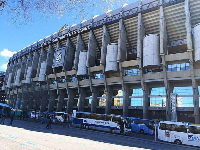 Madrid España Halamadrid Real Madrid C.F. Santiago Bernabeu Estadio