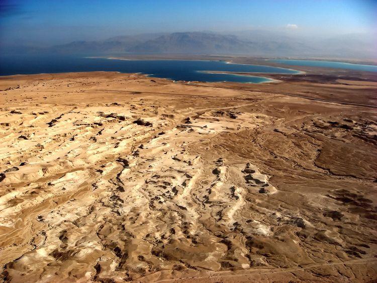 Dead Sea  Deserts Around The World Sand And Sea Dangerous Beauty Israel Judean Desert Landscape Dead Sea  The Great Outdoors - 2016 EyeEm Awards